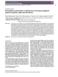 thumbnail-of-Formulation optimisation of gluten-free functional spaghetti based on quinoa, maize and soy flours