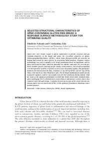 thumbnail-of-SELECTED STRUCTURAL CHARACTERISTICS OF HPMC-CONTAINING GLUTEN FREE BREAD, A RESPONSE SURFACE METHODOLOGY STUDY FOR OPTIMIZING QUALITY
